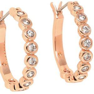 Kate Spade ✨🆕✨ Full Circle Rosegold Hoop Earrings